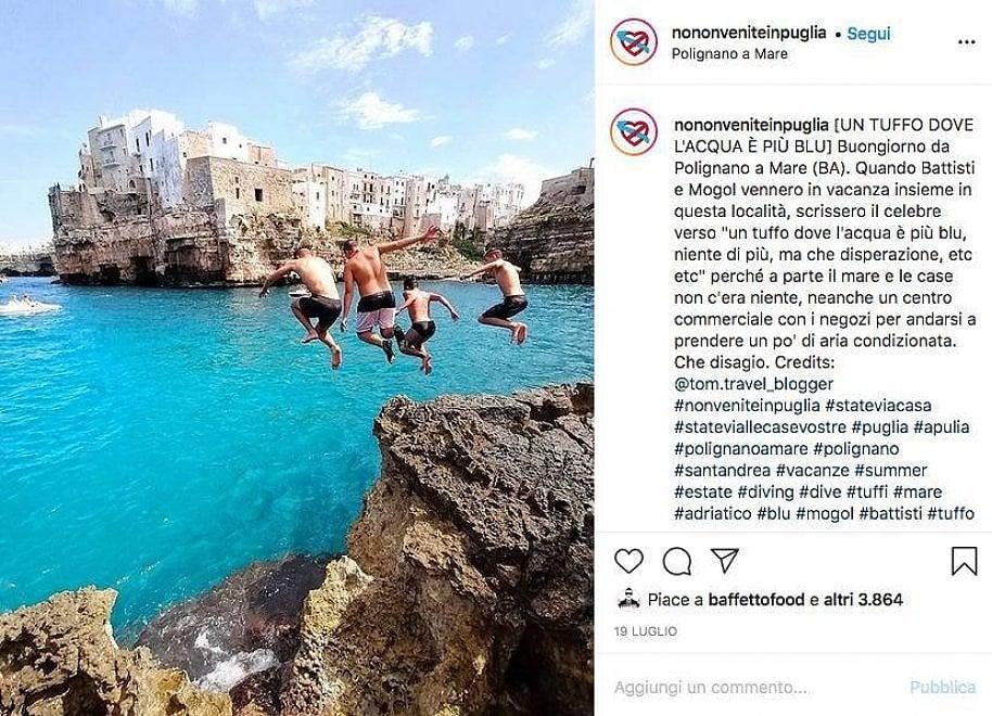 """""""No, non venite in Puglia"""": il fenomeno social del turismo a colpi di ironia"""