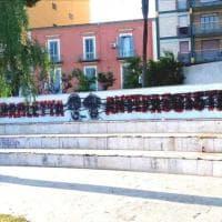 """Vandalizzato il murale antifascista dedicato ai fratelli partigiani Vitrani: """"Un'offesa per tutta Barletta"""""""