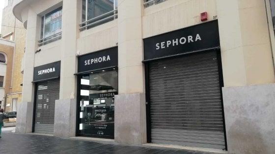 Coronavirus, commessa di Sephora positiva: chiuso 'in via precauzionale' lo store in via Sparano