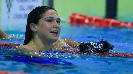 """Benedetta Pilato, la ragazza d'oro del nuoto: """"Il mio segreto a 15 anni? Gareggiare e vincere senza ansia"""""""