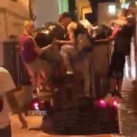 Otranto, denunciati i trapper milanesi autori del raid nel centro storico.