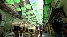 A Bari vecchia cielo verde  ma non è una pubblicità