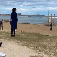 Bari, ciak per Luisa Ranieri a Pane e pomodoro: sarà la commissaria Lolita
