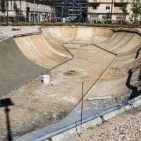 Bari, una piscina per lo skate nella ex caserma Rossani: lavori quasi ultimati