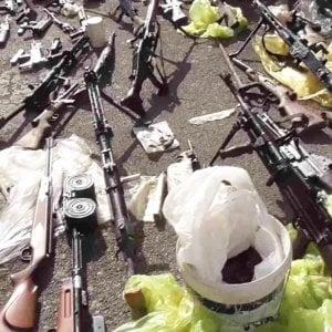 165544714 b7ad9149 92cc 46ab 99fe 8850efc1e85e - Giudice arrestato a Bari, nella masseria di Andria trovate altre armi: erano murate in un ripostiglio