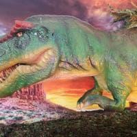 Bari, dinosauri interattivi in mostra alla Fiera del Levante: viaggio fra