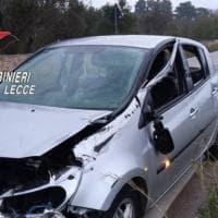Auto si ribalta all'alba in Salento: 21enne muore, l'amico al volante è risultato positivo...