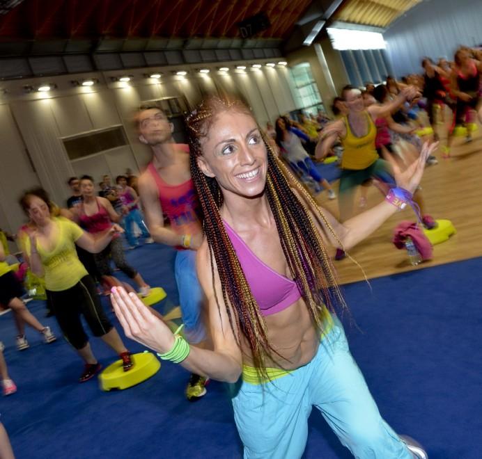 Rimini a tutta zumba per la fiera del fitness - la Repubblica