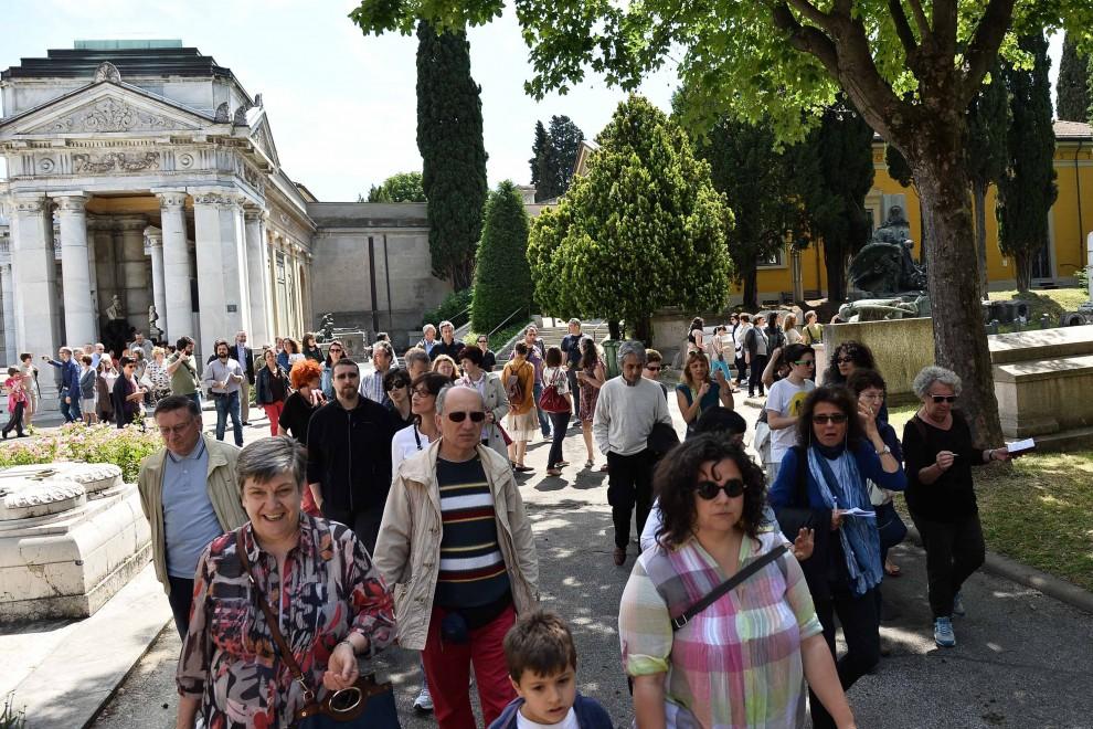"""""""Mi rivolto nella tomba"""", in Certosa la protesta dei dipendenti museali"""