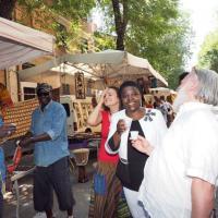 Festa multietnica in Cirenaica<br />C'è anche Cécile Kyenge