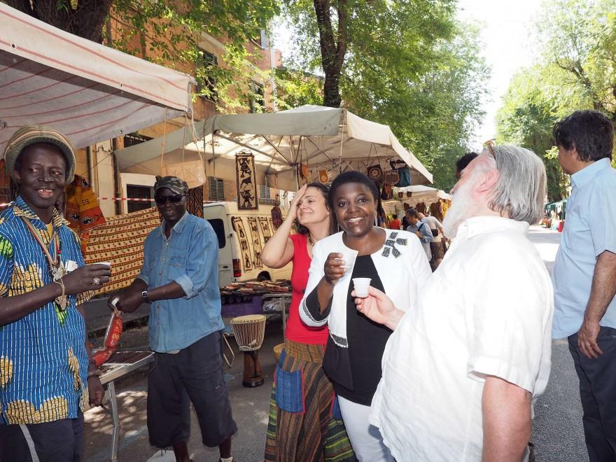 Festa multietnica in Cirenaica C'è anche Cécile Kyenge
