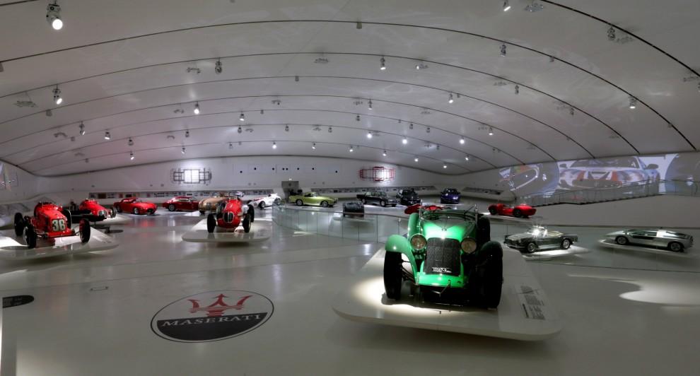 Modena, la mostra per i 100 anni della Maserati