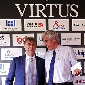 """L'allarme di Albertini: """"Virtus, un milione e mezzo da trovare entro settembre"""""""