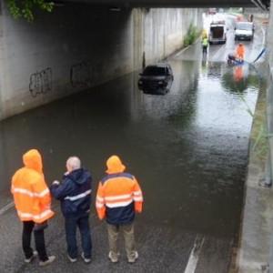 Maltempo, rientra l'allarme per i fiumi modenesi