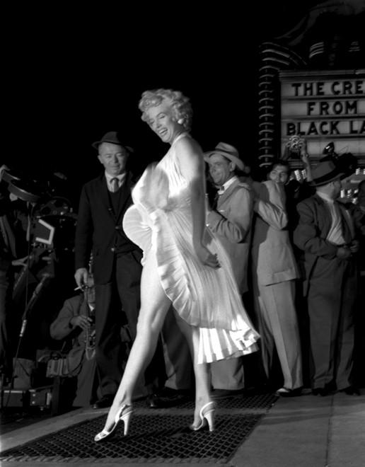 """Marilyn in white"", gli scatti di George Barris"