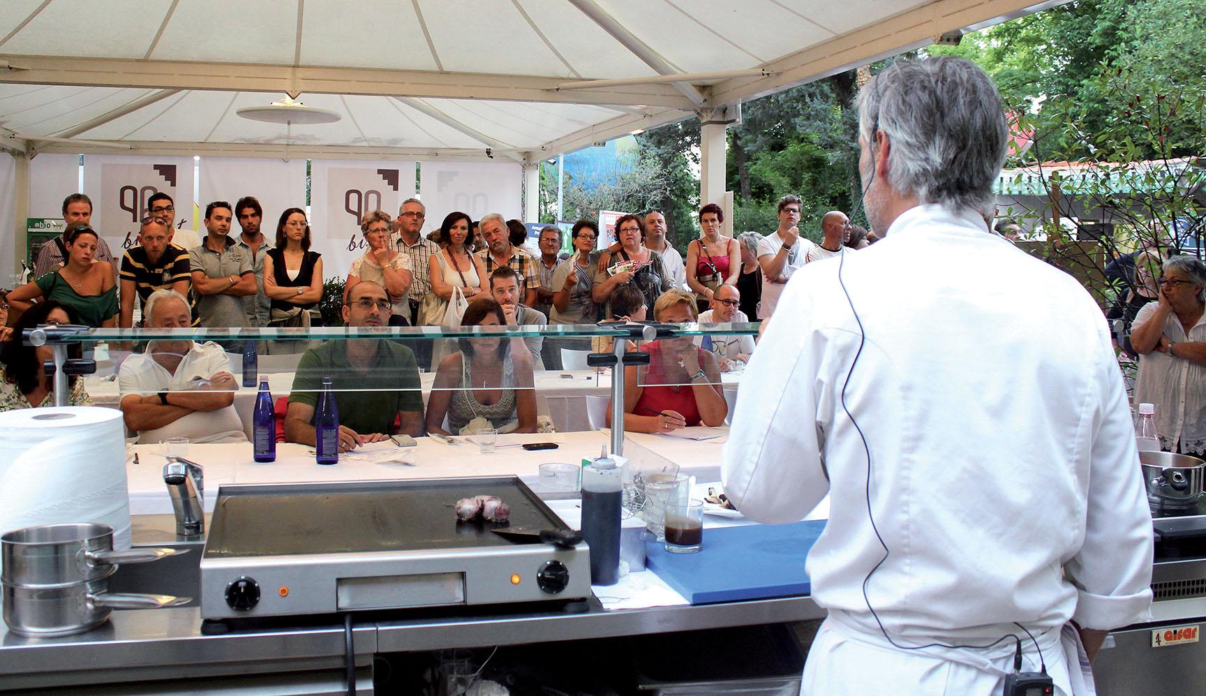 Festival cucina italiana  con Vissani, Cracco Angelini e Marchesi