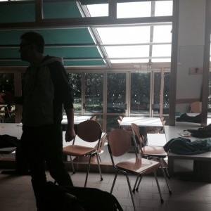 Hobo occupa la sala studio in via Filippo Re