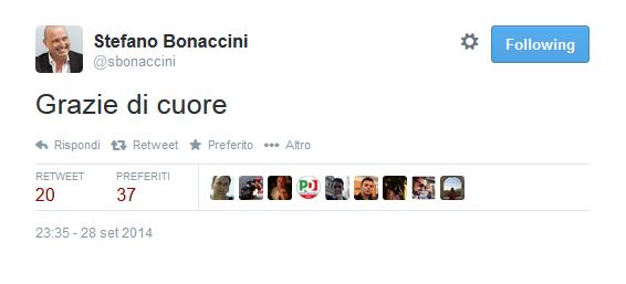 """Primarie, vince Bonaccini. Renzi: """"E' il candidato di tutto il Pd"""" in Emilia Romagna. Flop affluenza"""