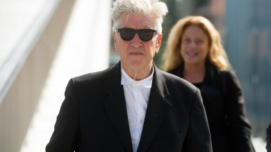 Lynch a Bologna delude i cinefili /  foto  solo pochi minuti di lezione agli studenti