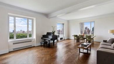 In vendita per 13,7 milioni di dollari -   foto   l'appartamento di Pavarotti a New York