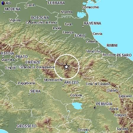 Ultime Notizie: Sciame sismico fra Forlì e Arezzo, scosse fino a 3.5