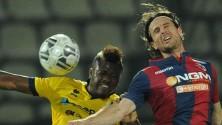 Modena-Bologna 0-0 Nel derby vince la paura     Quella  torta  in regalo