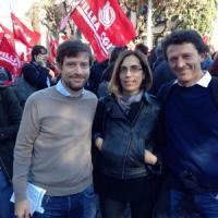 """Silvia Prodi al corteo Cgil: """"La politica non deve aver paura del confronto"""""""