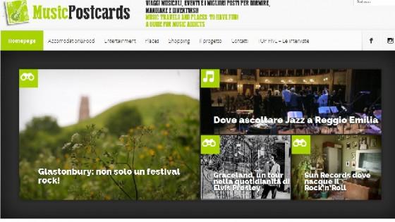 Ultime Notizie: Musicpostcards.it, una guida web per