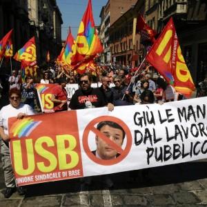 Ultime Notizie: Sciopero Cobas, studenti e precari in piazza