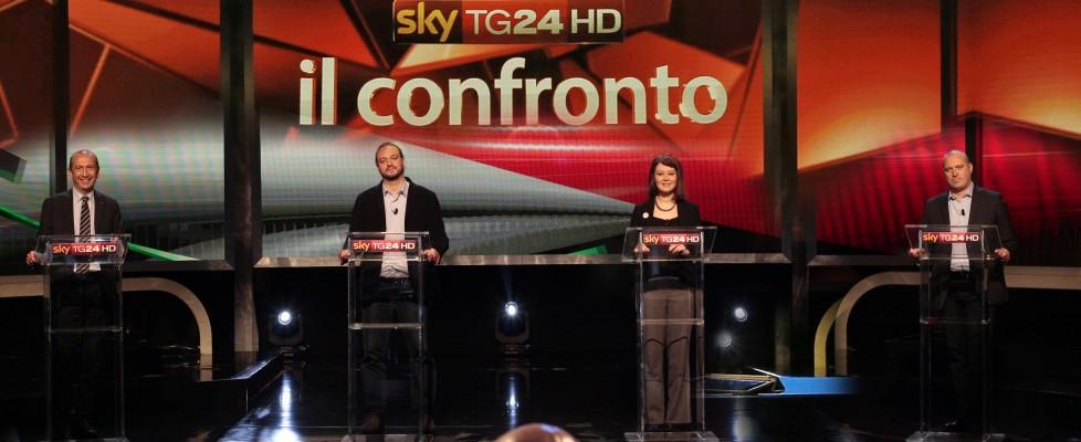 Nella notte di Sky i candidati emiliani a confronto sui costi della politica