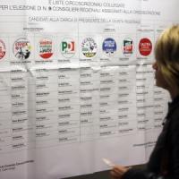 Elezioni regionali, affluenza shock: sotto il 40%. Scrutini, Bonaccini in vantaggio