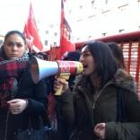 """""""Dal primo gennaio tutte  a casa"""": le commesse  fanno sciopero -   foto"""
