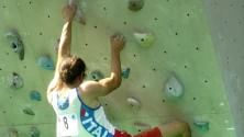 Matteo scala senza limiti n.1 nel paraclimbing