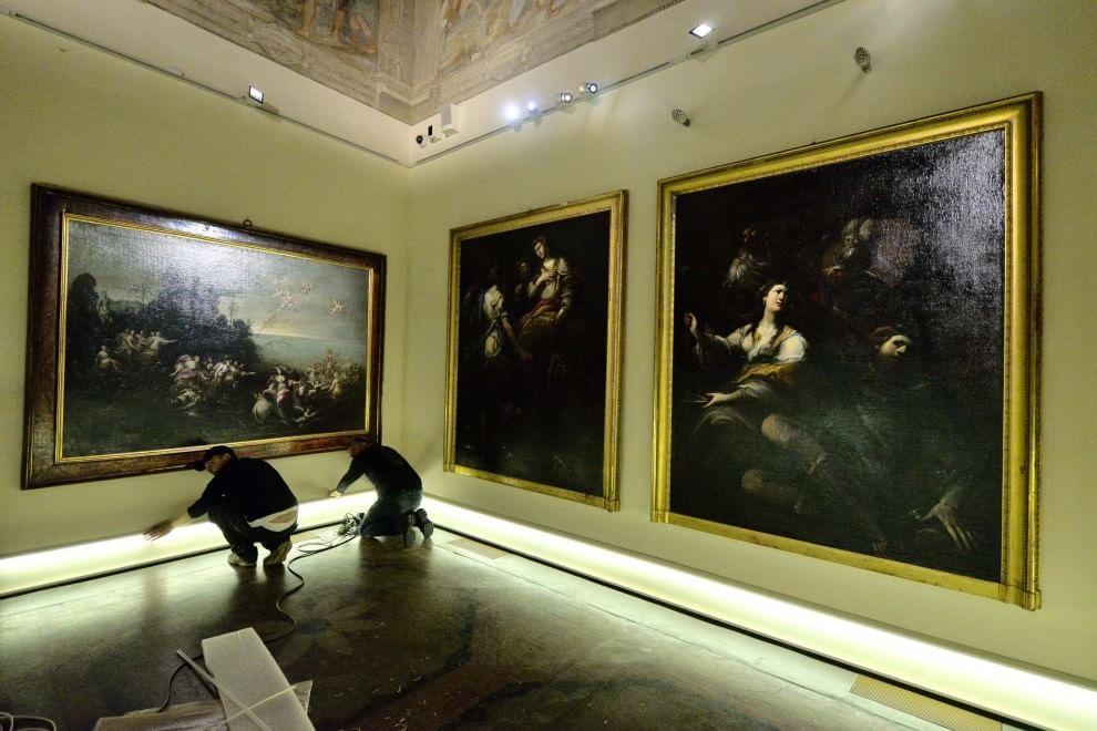 """""""Da Cimabue a Morandi"""", l'allestimento della mostra"""