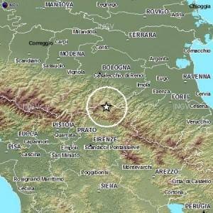 Oltre venti scosse di terremoto tra Bologna e Firenze