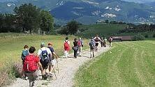 Appennino emiliano  il trekking celebra  la Resistenza  /  foto