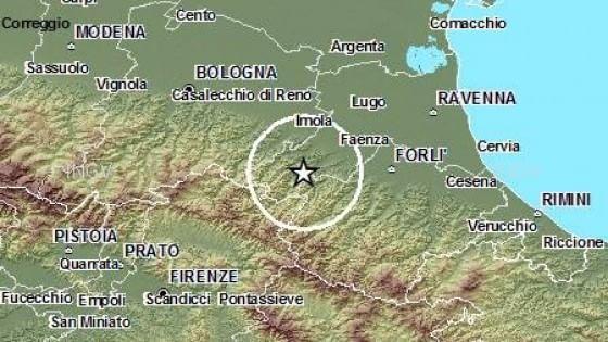Scossa di magnitudo 3.2 in Appennino