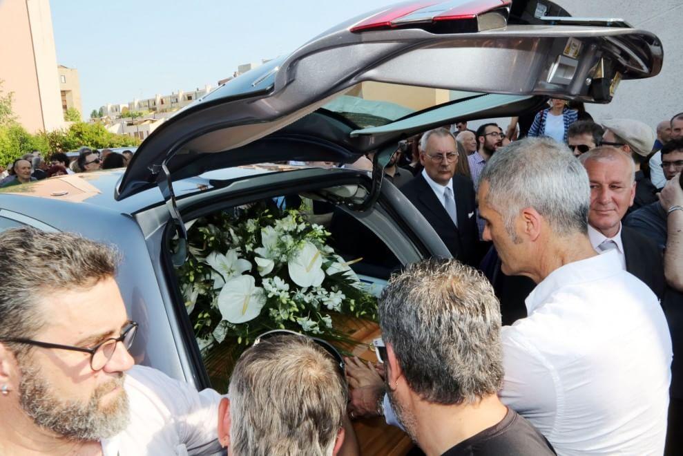 I funerali di Marco Tamburini