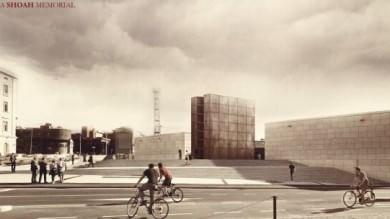Memoriale della Shoah  Foto   ecco il progetto vincitore