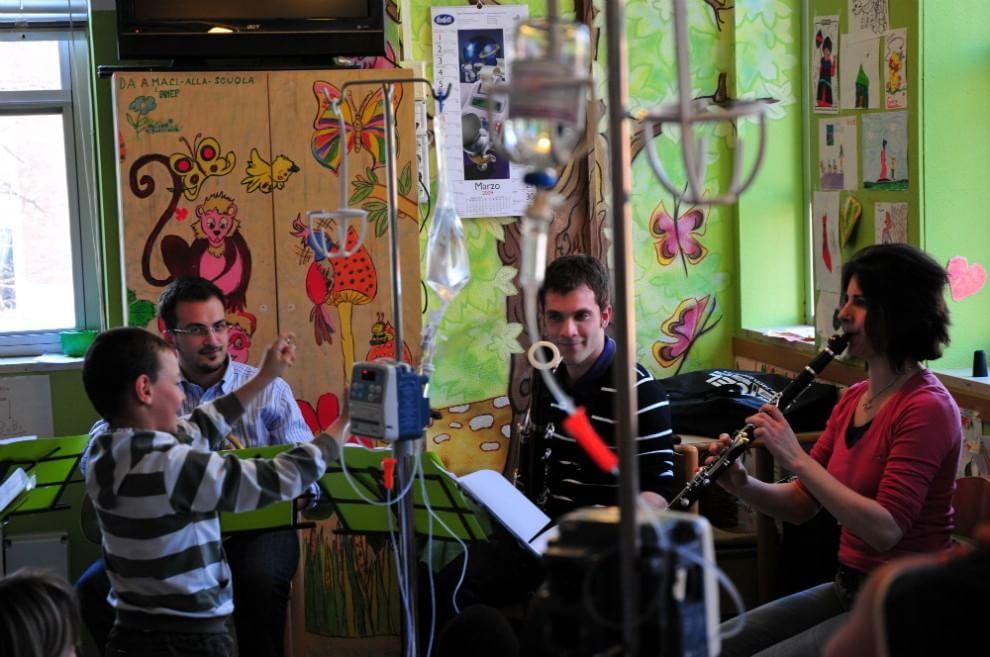 Al Sant'Orsola la musica per i più piccoli non va in vacanza