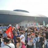 Via ai lavori alla Unipol arena il palasport più grande d'Italia