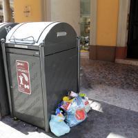 Rifiuti, al quartiere Porto senza più i bidoni impazza il fai-da-te