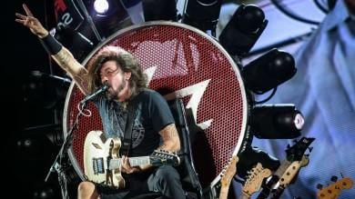 """La promessa dei Foo Fighters  """"Cesena, arriviamo presto""""   Foto"""