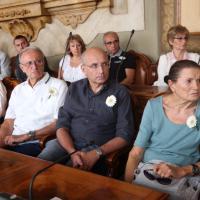 Due agosto 2015, la cerimonia in consiglio comunale