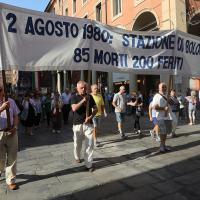 Bologna, Due agosto: il corteo
