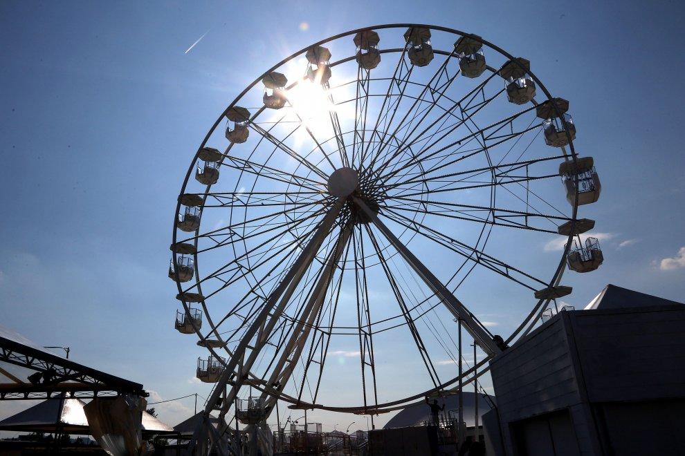 Alla Festa dell'Unità arriva la ruota panoramica