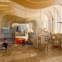 L'asilo come la balena di Pinocchio: l'opera a Reggio Emilia
