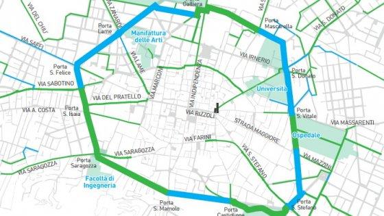Oggi inaugura la tangenziale delle biciclette di Bologna