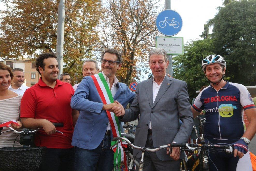 La prima pedalata con Gimondi