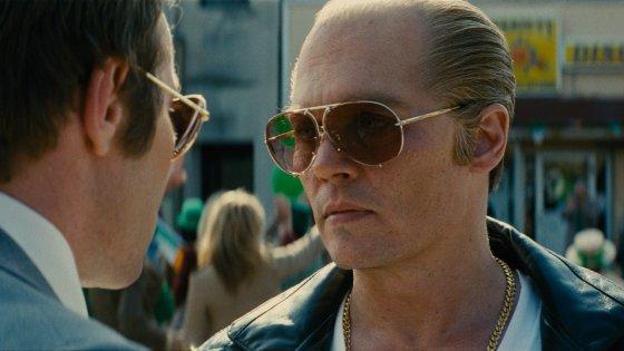 "Depp diventa gangster, ""Black mass"" in anteprima con Sala Bio"